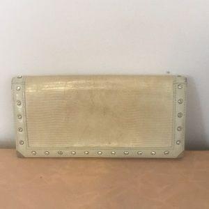 Authentic Swarovski Leather Wallet